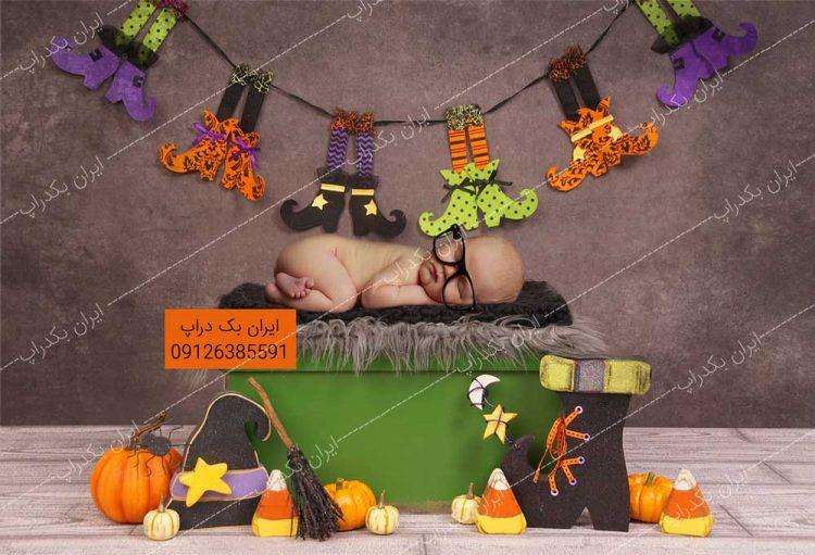 بک گراند نوزاد هالووین