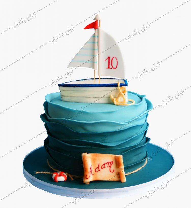 کیک کشتی