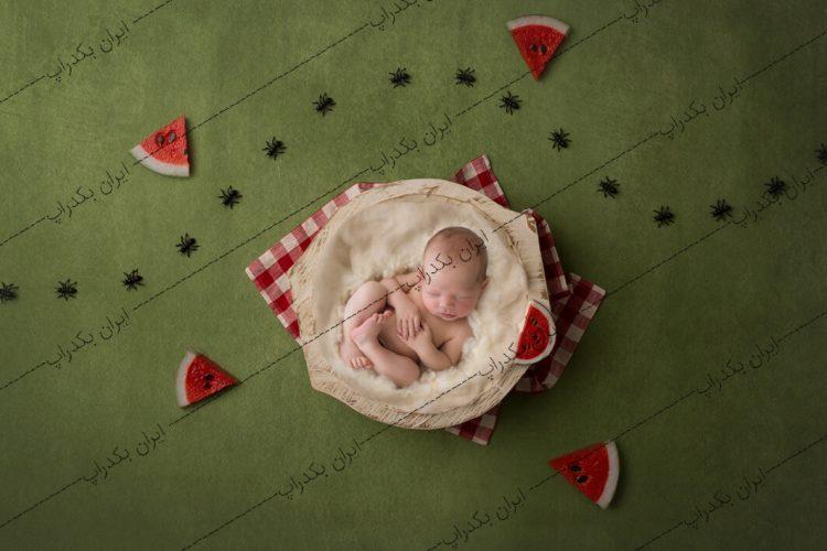 بک دراپ نوزاد یلدایی