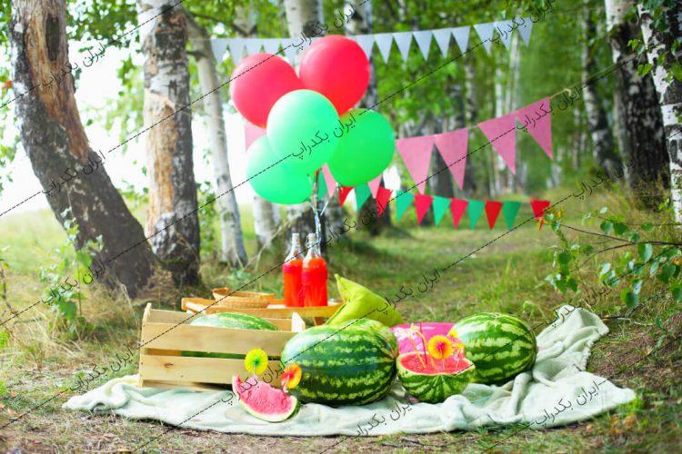 بک گراند کودک جشن یلدا