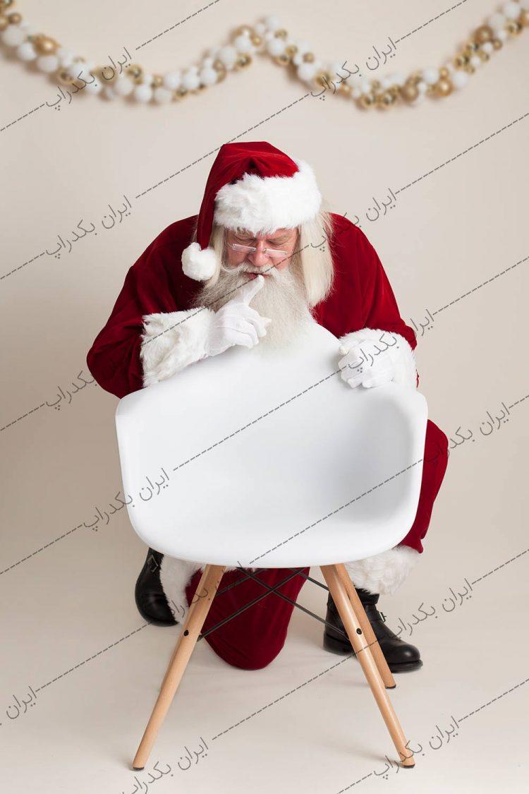 بک دراپ بابانوئل