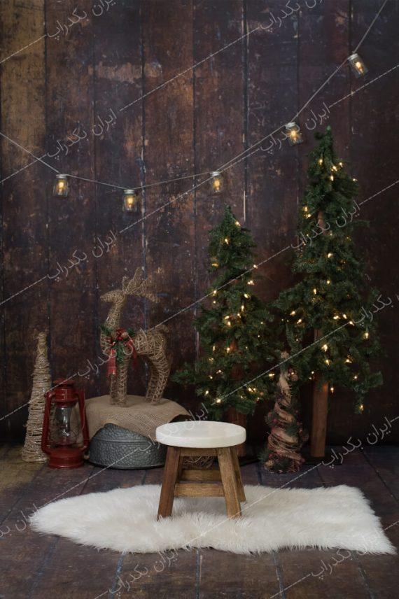 بک دراپ کودک و خانوادگی کریسمس
