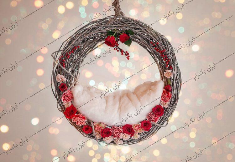 بک دراپ نوزاد تاپ کریسمس کد IBD-8392