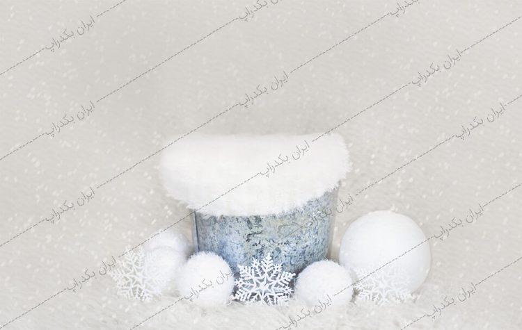 بک گراند نوزاد زمستان