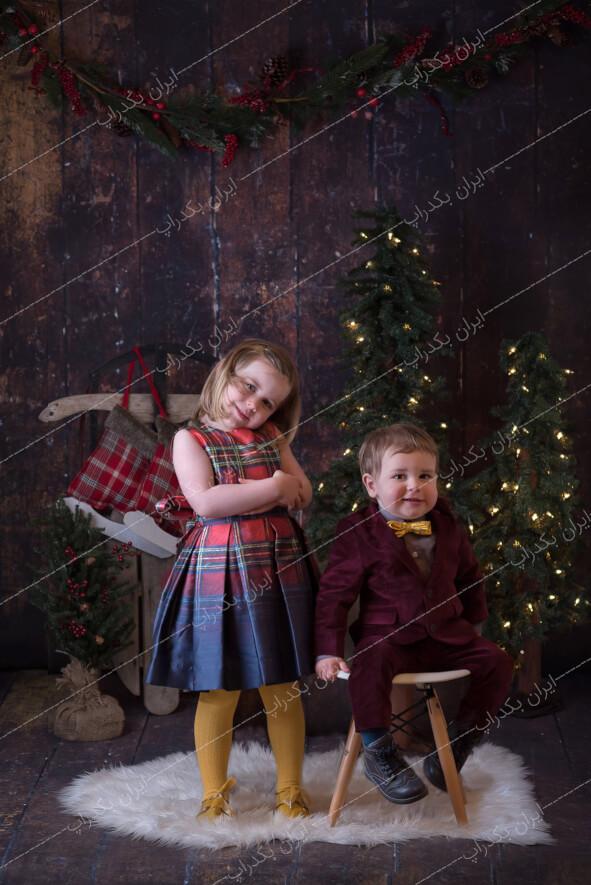 بک گراند کودک و خانوادگی کریسمس