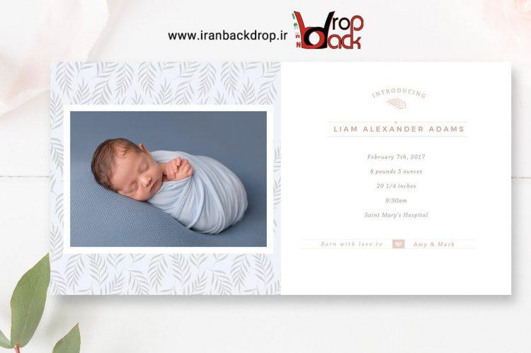 فایل لایه باز آلبوم کودک