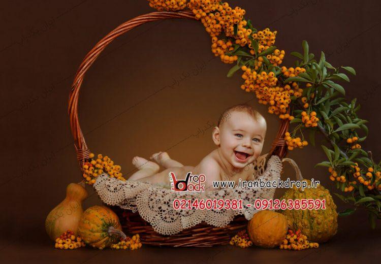بک گراند عکاسی کودک هالووین