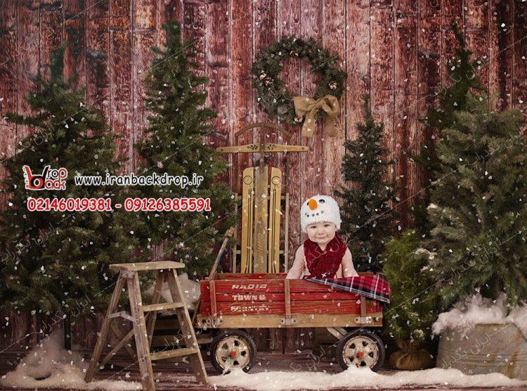 بک دراپ کریسمس عکاسی