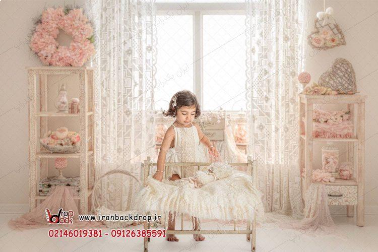 بک دراپ عکاسی کودک