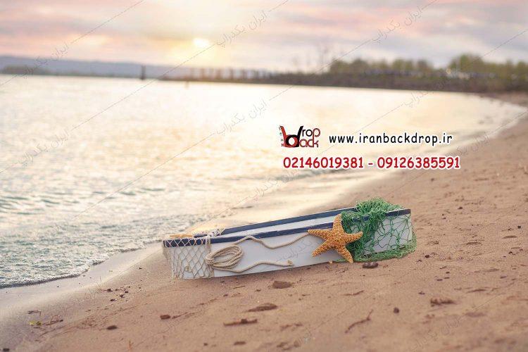 بک گراند تابستانی قایق